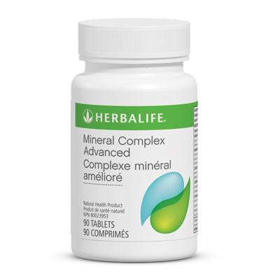 Complexe minéral amélioré