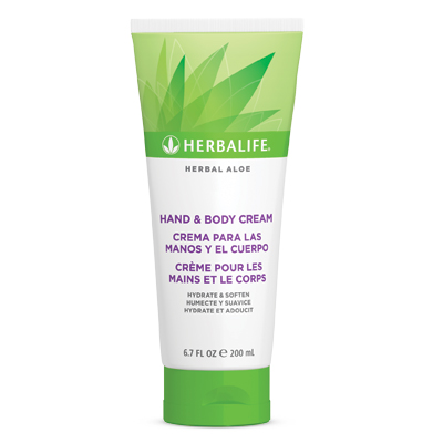 Créme pour les mains et le corps Herbal Aloe