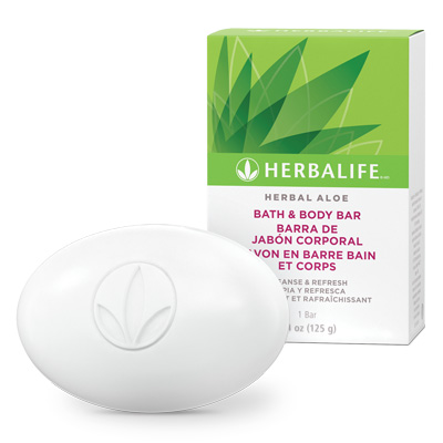 Savon en barre bain et corps Herbal Aloe