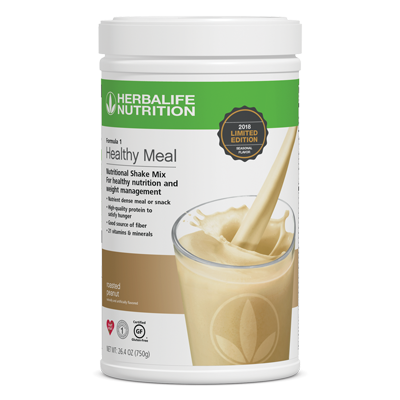 Formula 1 Healthy Meal Nutritional Shake Mix Roasted Peanut Limited Edition