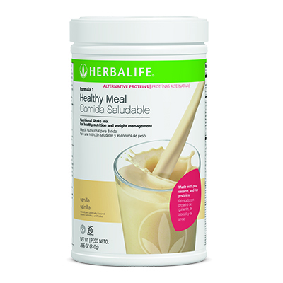 Formula 1 Healthy Meal Nutritional Shake Mix Alternative Proteins – Vanilla