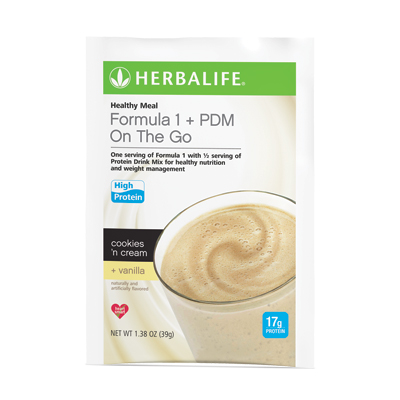 Formula 1 + PDM On The Go17 g of Protein