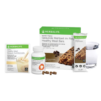 Herbalife Produktproben