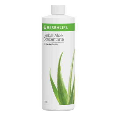 Herbal Aloe Concentrate Bottle 473mL