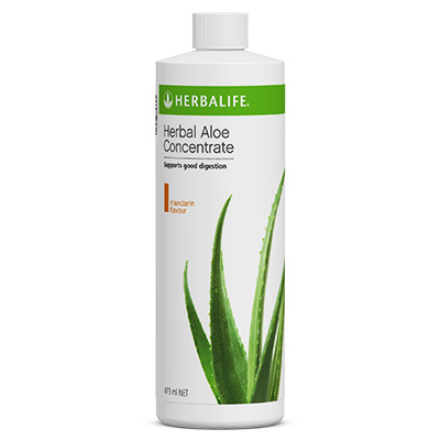 Herbal Aloe Concentrate Mandarin
