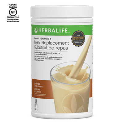 Limited Edition Formula 1 Meal Replacement, Pralines and Cream