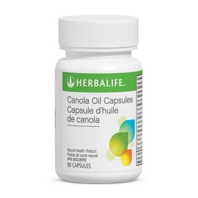 Capsules d'huile de canola
