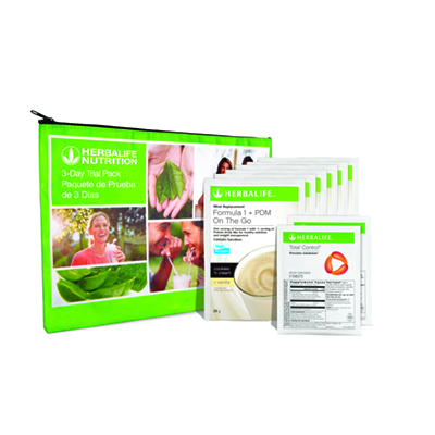 3-Day Trial Pack with Total Control®