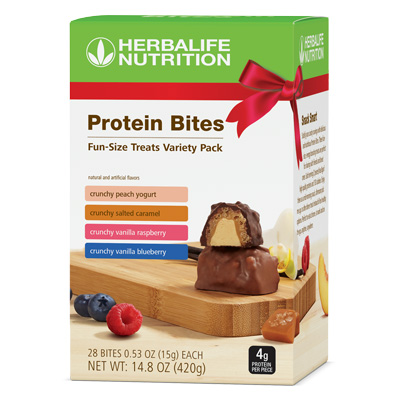 Paquete Surtido de Bocaditos de Proteína