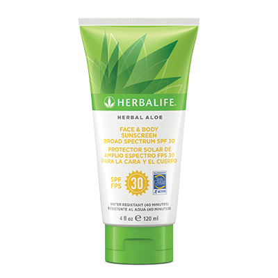 Herbal Aloe Face & Body Sunscreen Broad SpectrumSPF 30