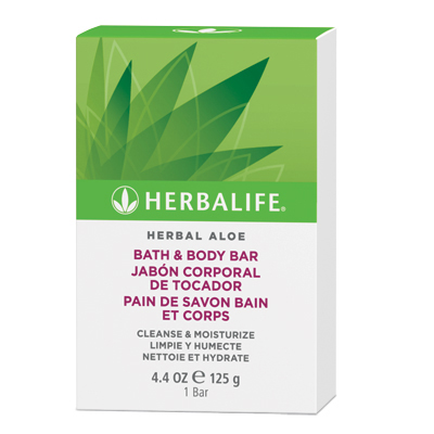 Barra de Jabón Corporal Herbal Aloe