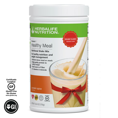 Limited-Edition Formula 1 Healthy Meal Nutritional Shake Mix - Pumpkin Spice