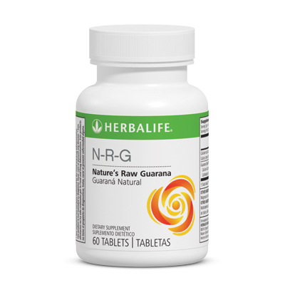 N-R-G Nature's Raw Guarana Tablets