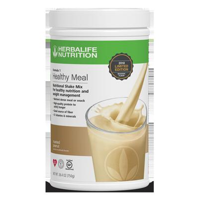 Fórmula 1 Comida Saludable Mezcla Nutricional para Batido Cacahuate tostado edición limitada