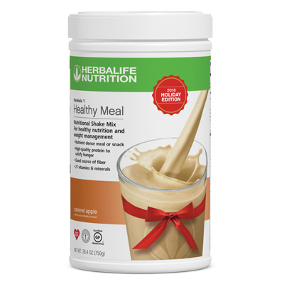 Formula 1 Healthy Meal Nutritional Shake Mix: Limited Edition Caramel Apple