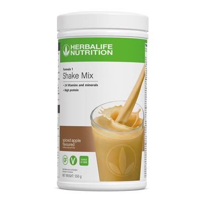 Formula 1 Spiced Apple Flavoured Shake Mix