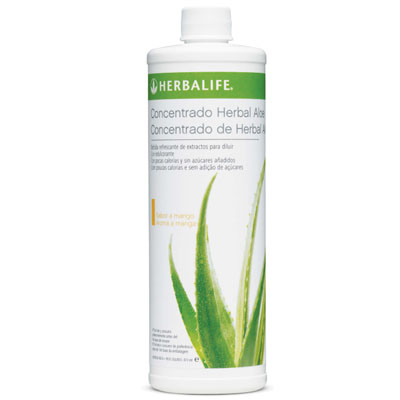 Herbal Aloe Concentrado sabor a Mango