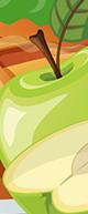 Batido de Pastel de Manzana