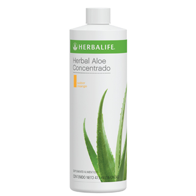 Bebidas Herbal Aloe Concentrado Mango