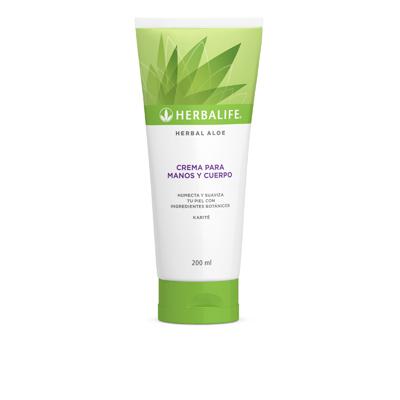 Crema para manos y cuerpo Herbal Aloe.