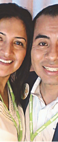 Claudia Victoria y Macario Vazquez