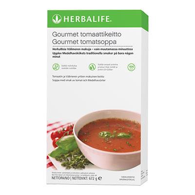 Gourmet-tomaattikeitto