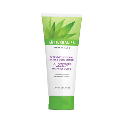Herbal Aloe Lait Quotidien Apaisant Mains Et Corps