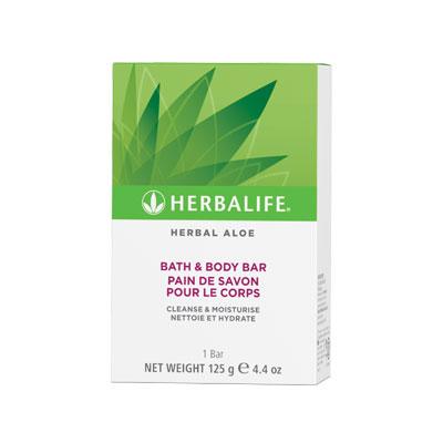 Herbal Aloe Pain de Savon Pour le Corps