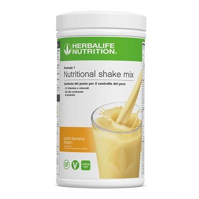Formula 1 Banana Cream – Sostituto del pasto per il controllo del peso