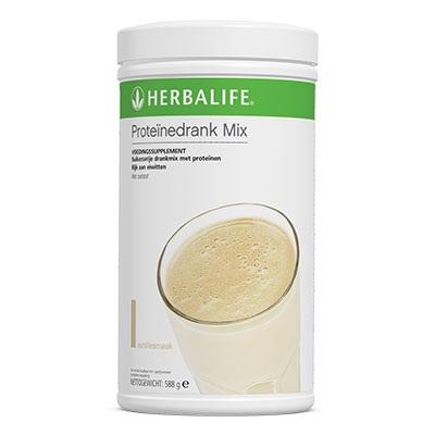 Proteïnedrank mix vanille
