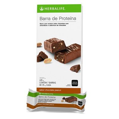 Barra de Proteína Brownie  7 barras 245g