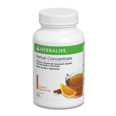 Herbal Concentrate Laranja e Especiarias - 100g