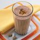Shake de chocolate cremoso com maracujá