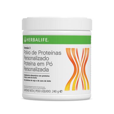 Fórmula 3, Suplemento de Proteínas Personalizado