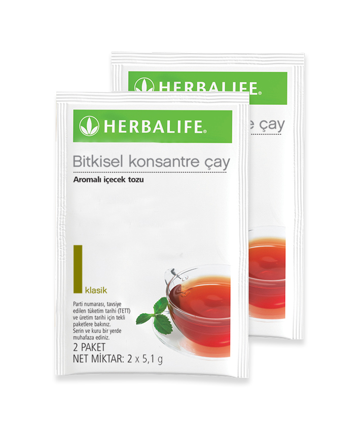 Bitkisel Konsantre Çay Klasik (2'li Paket)