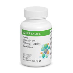 Formül 2 Vitamin ve Mineral Tablet
